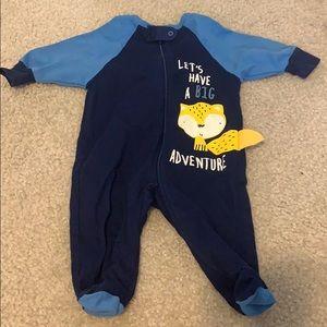 Let's have a big adventure one piece pajamas